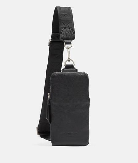 Sling Bag aus Glattleder