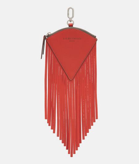 Dreieckiger Taschenanhänger im Western-Chic