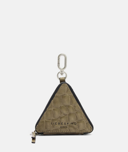 Dreieckiges Kroko-Accessoire
