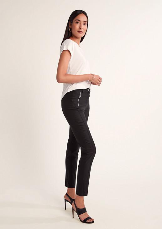 Slim: Elastische 7/8-Hose