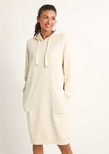 Sweatshirt dress with hood from comma