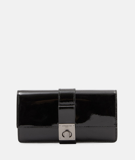 Large high-quality patent leather wallet from liebeskind