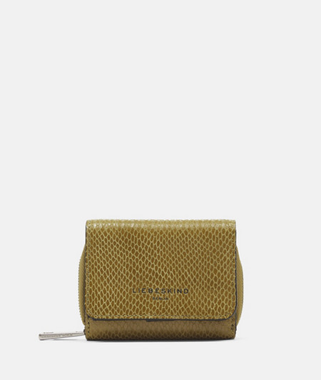 Wallet in a snakeskin look from liebeskind