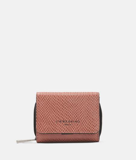 Wallet in a snakeskin look from liebeskind