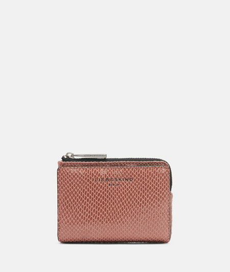 Iconic wallet with a snakeskin look from liebeskind