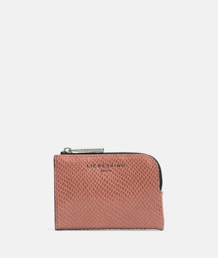 Handy wallet in an iconic snakeskin look from liebeskind