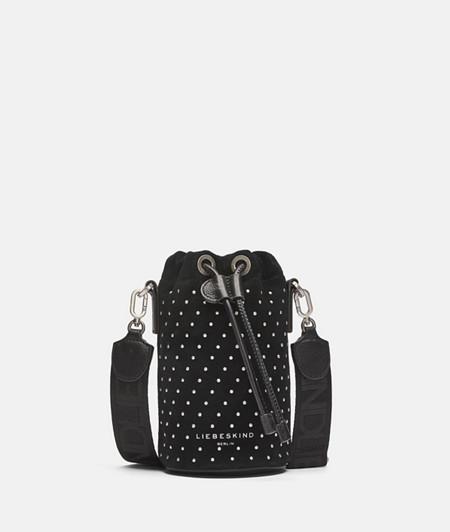 Bucket Bag aus Wildleder