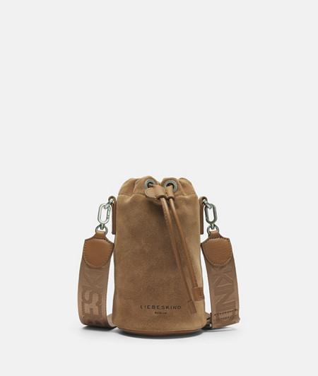 Bucket Tasche aus Leder