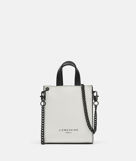 Leather handbag in a mini format from liebeskind