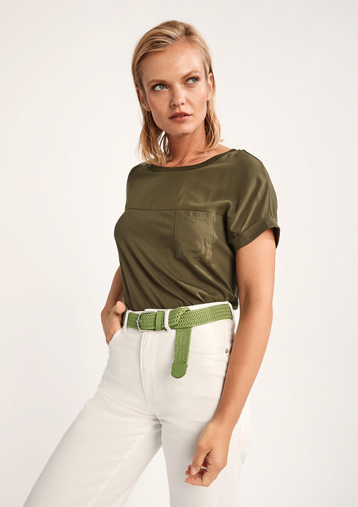 Belt in a braided look from comma