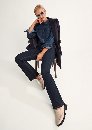 Overshirt aus Jeansstoff