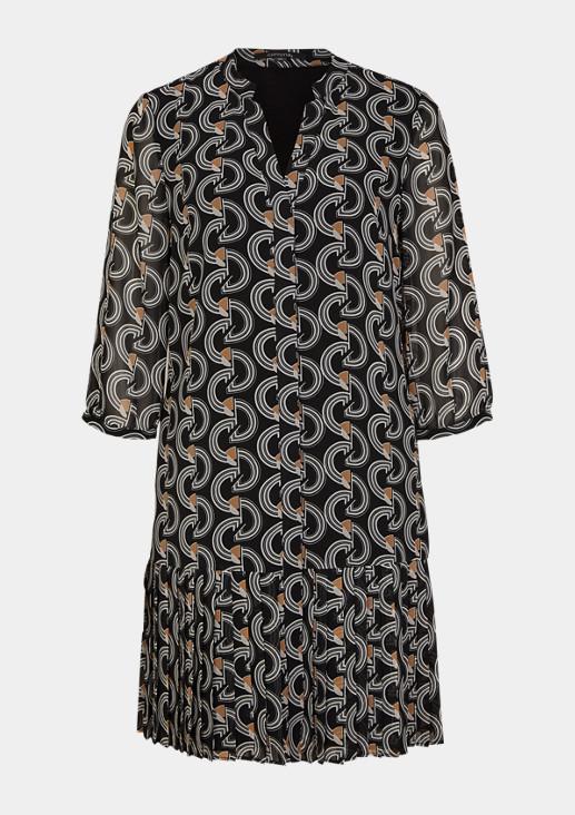 Tunikakleid aus Chiffon