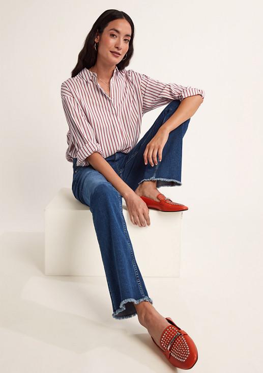 Skinny: Flared leg-Jeans