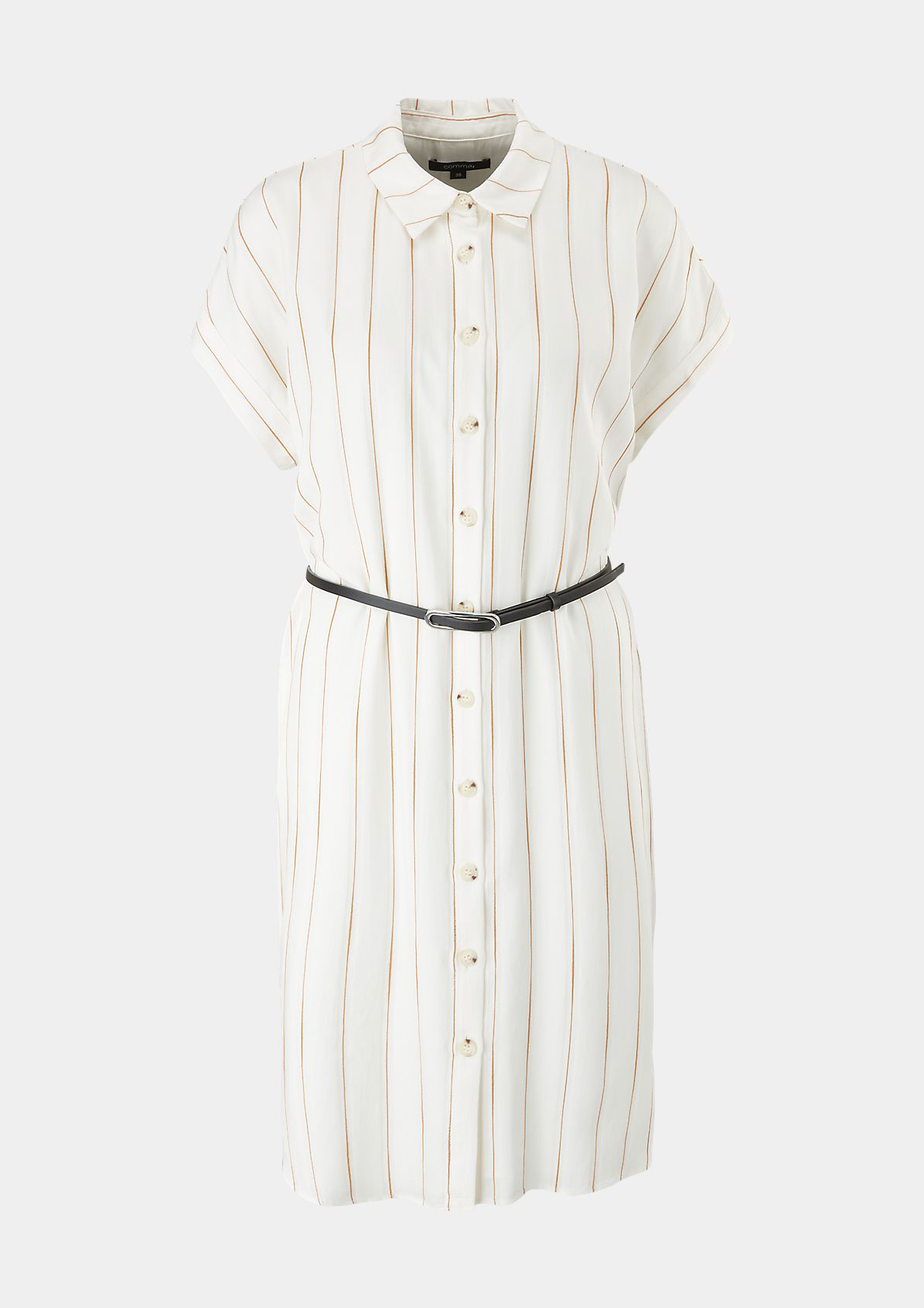 Blusenkleid mit Streifen