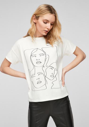 T-Shirt mit modischem Grafik-Print