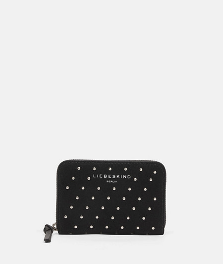 Suede purse with studs from liebeskind