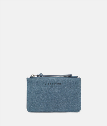 Suede purse with smooth leather from liebeskind