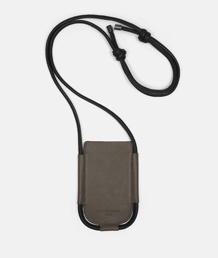 Handy Umhängetasche aus Leder