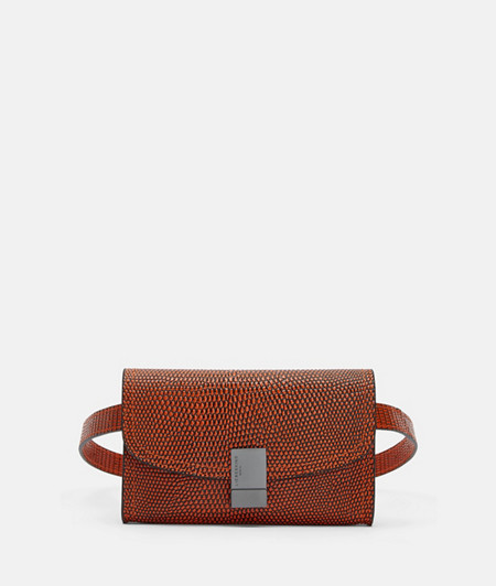 Elegant belt bag in a snakeskin look from liebeskind