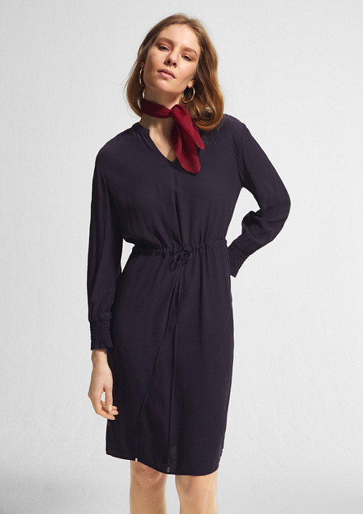 Crêpe tunic dress from comma