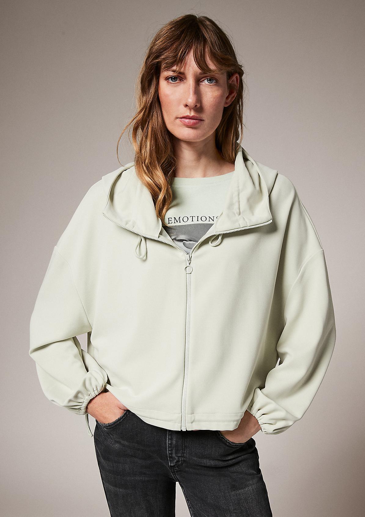 Modalmix-Jacke im Loose Fit