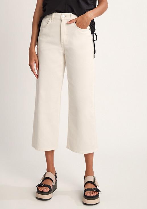 Regular Fit: Culotte aus Jeans