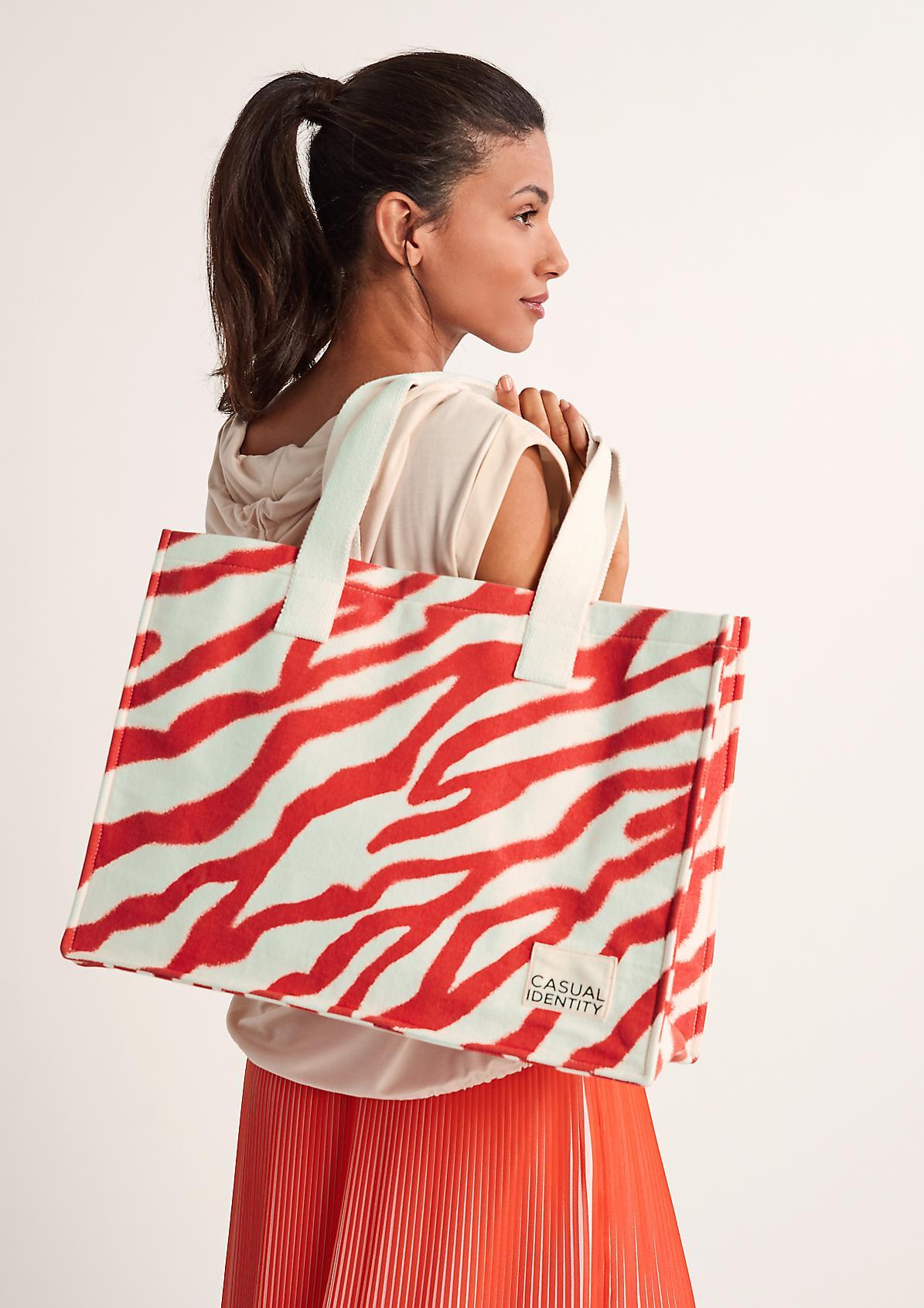 Shopper mit Animal-Muster