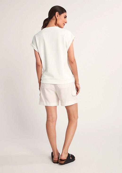 Jerseyshirt im Scuba-Style