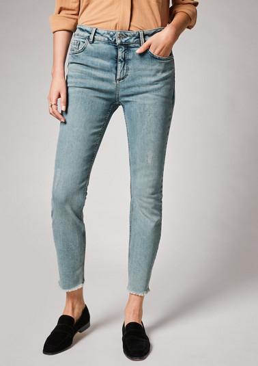 Skinny: Jeans mit Wascheffekt