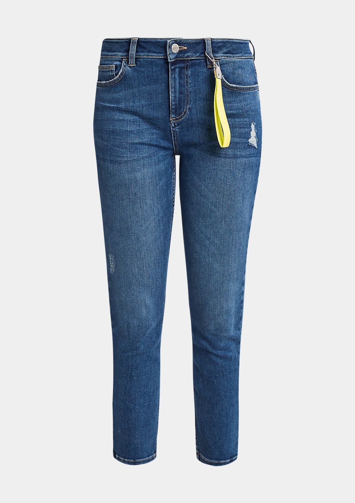 Jeans mit Schlüsselanhänger