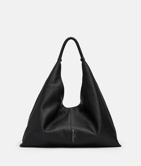 Iconic leather hobo bag from liebeskind