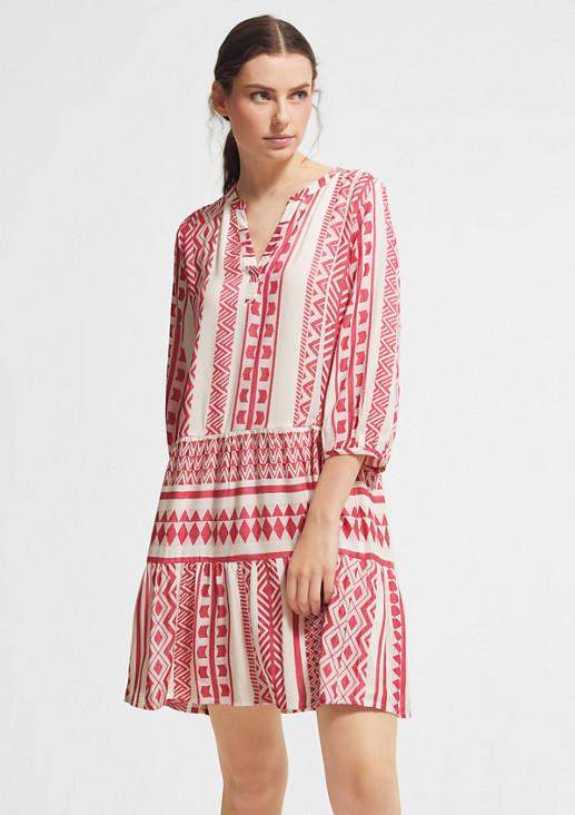 Kleid mit Jacquardmuster