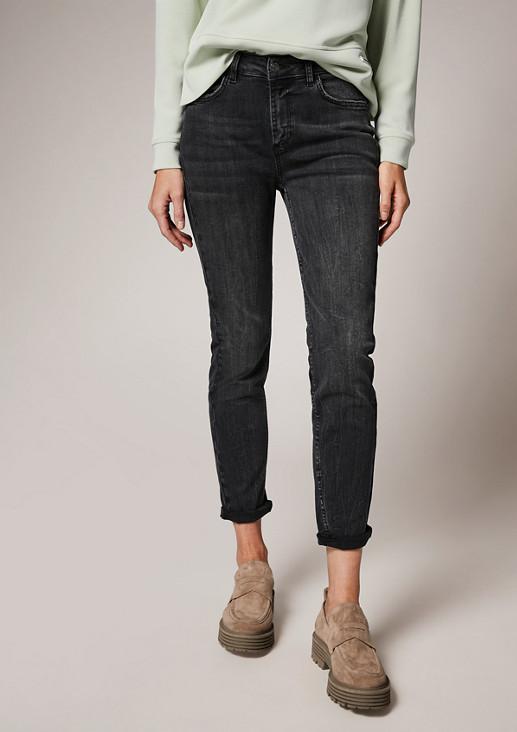 Skinny: Gewaschene Jeans