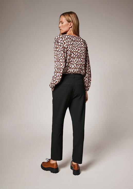 Slim: Elegante Bundfaltenhose