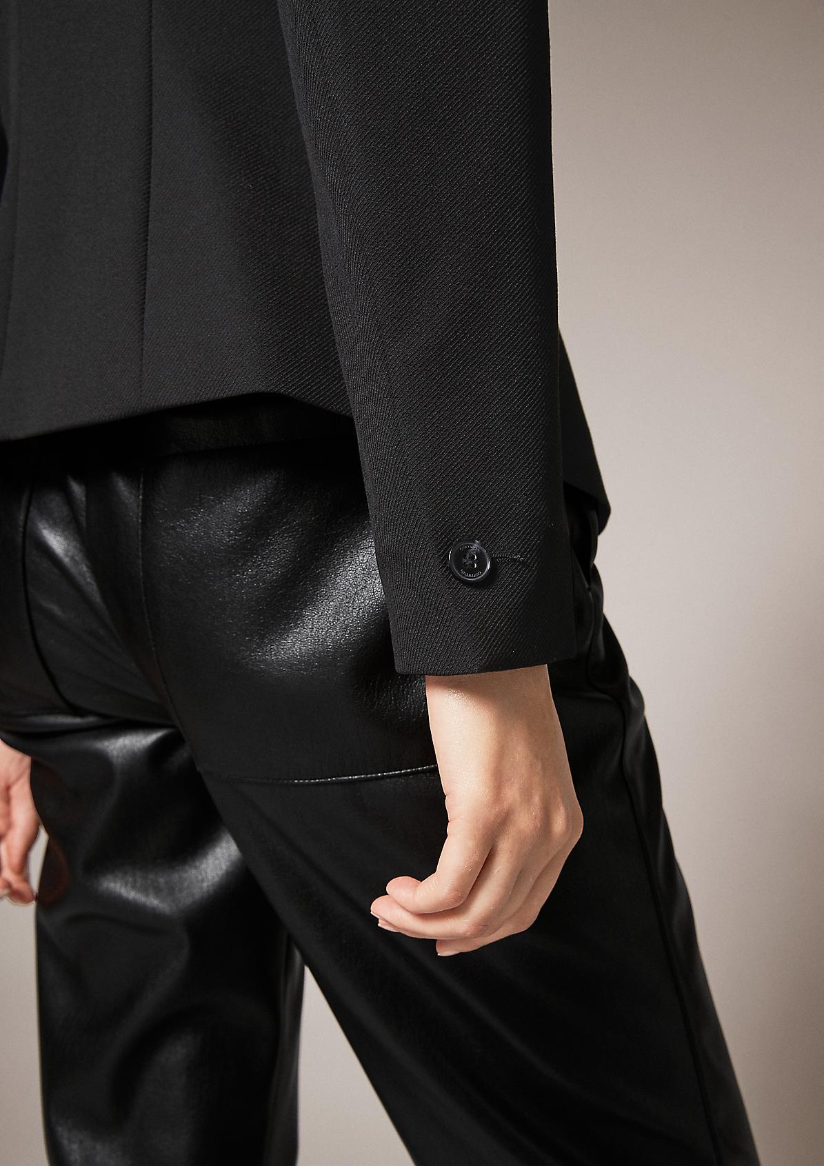Stretch-Blazer aus Twill