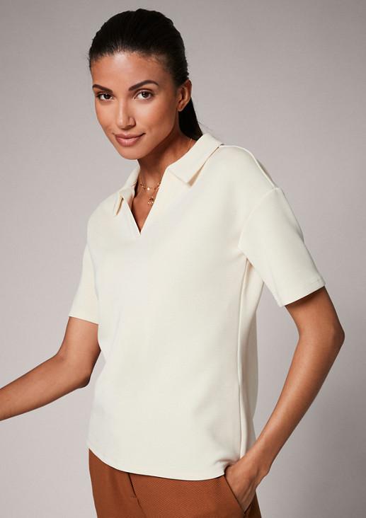 Poloshirt aus Scuba