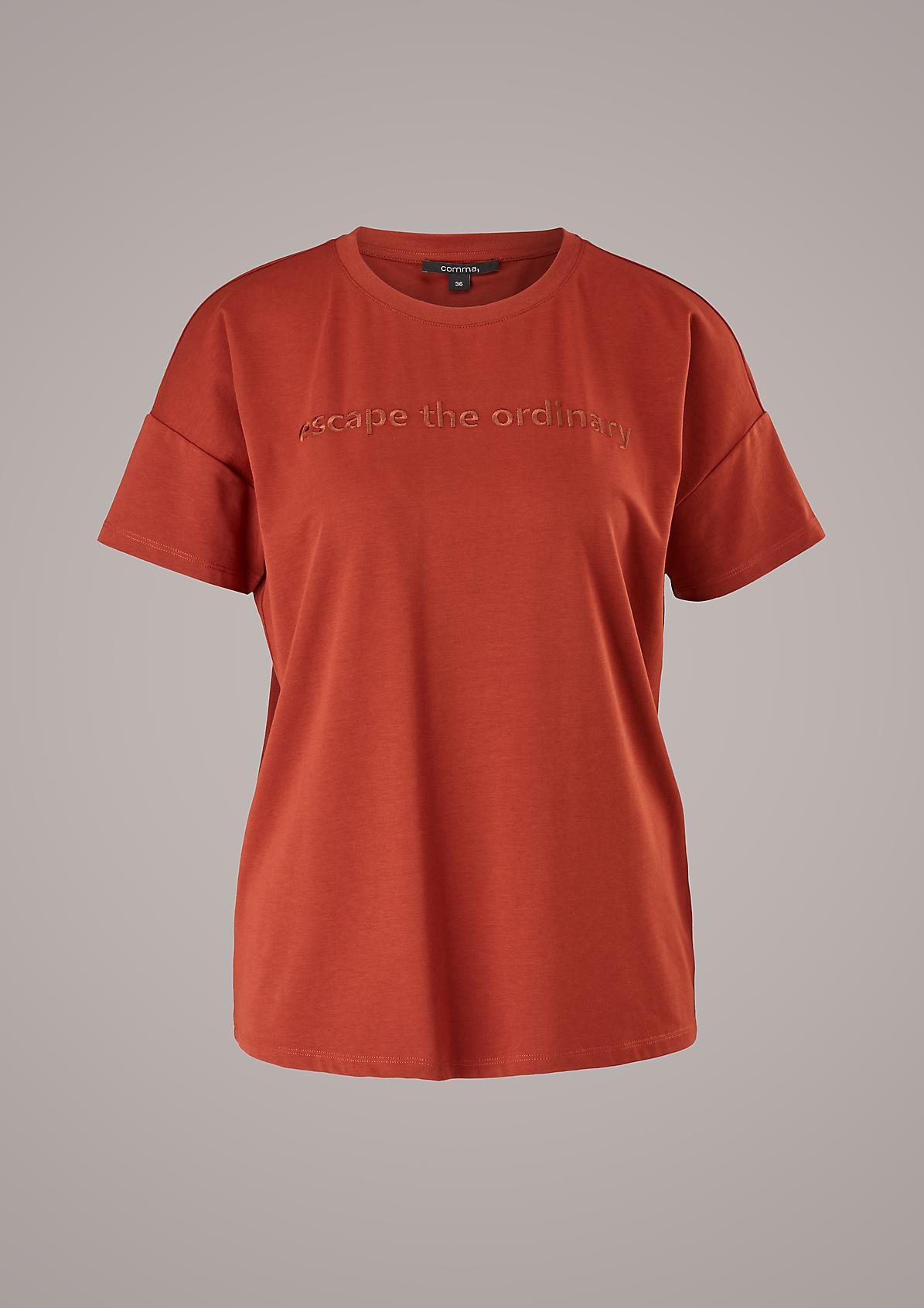Lockeres Modalmix-Shirt