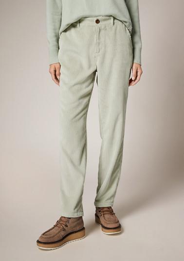 Regular: Softe Hose mit Struktur