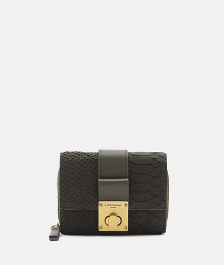 Handy purse in an elegant reptile look from liebeskind