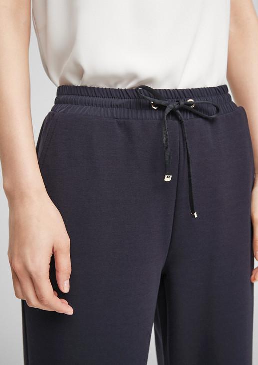Regular Fit: Hose aus Interlock