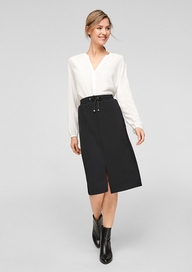 Midi skirt in a sporty style from comma