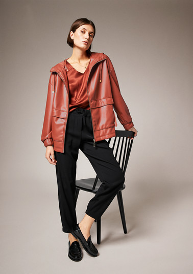 Faux leather jacket from comma