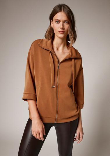 Scuba jersey jacket from comma
