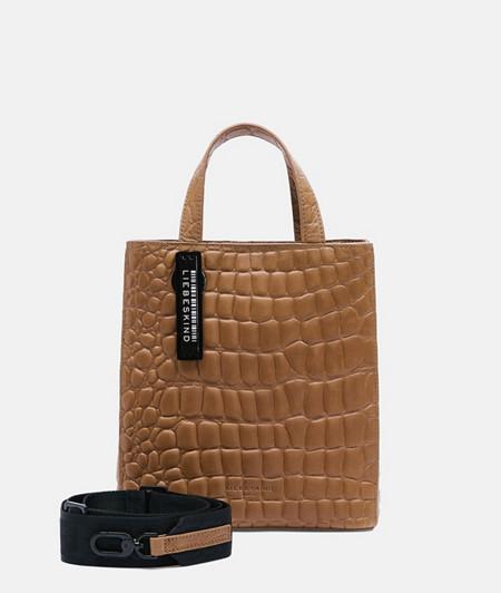 Paper Bag im Kroko-Look