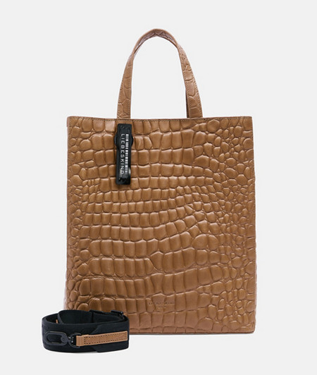 Handtasche im Kroko-Style