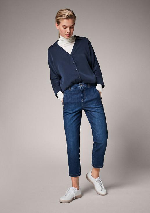 Regular: Flared cropped leg-Jeans