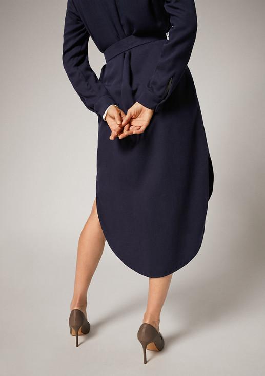 Blusenkleid mit Taillengürtel