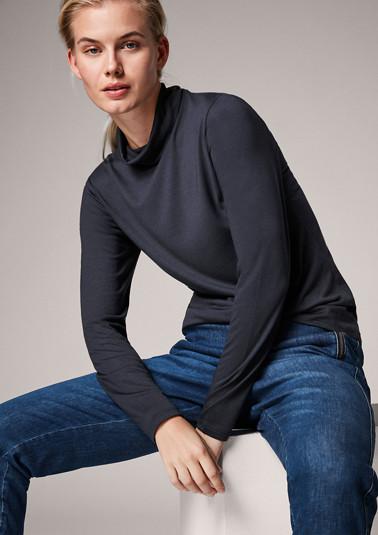 Shirt aus Modalmix