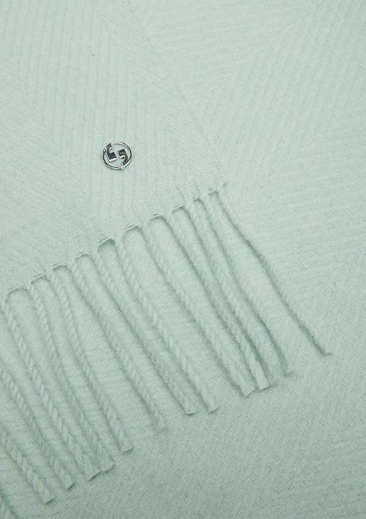 Schal mit Webmuster