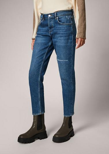 Regular: straight leg jeans from comma